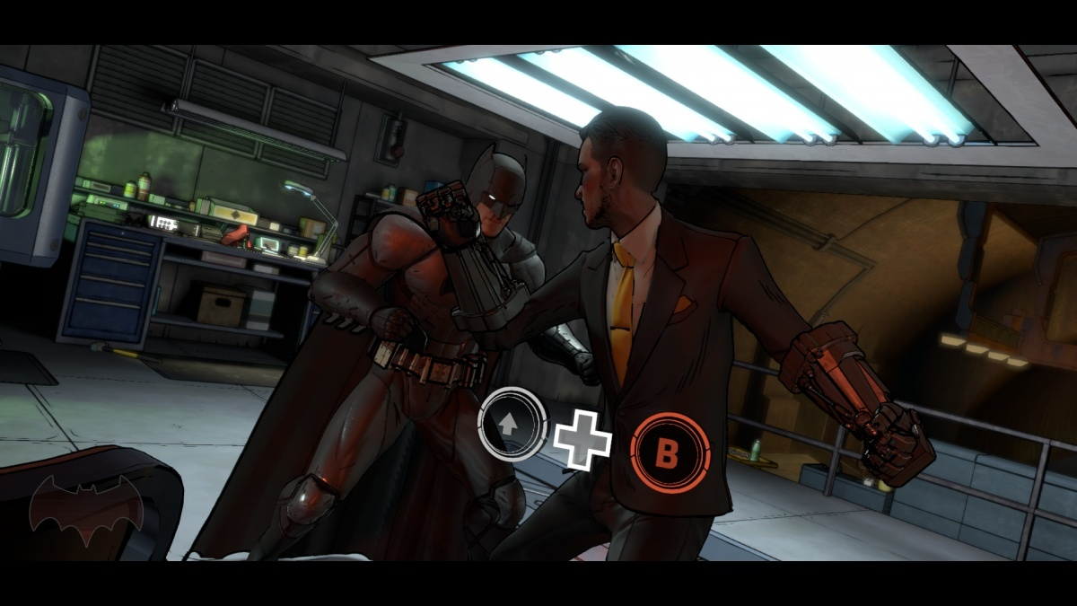 batman telltale quick time events
