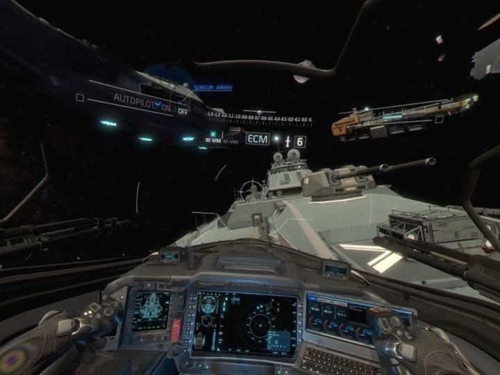 Screenshot for Call of Duty: Infinite Warfare - Jackal Assault VR Experience on PlayStation 4