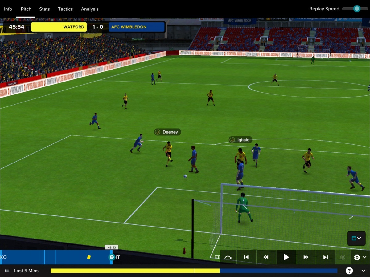 Screenshot for Football Manager Touch 2017 on PC