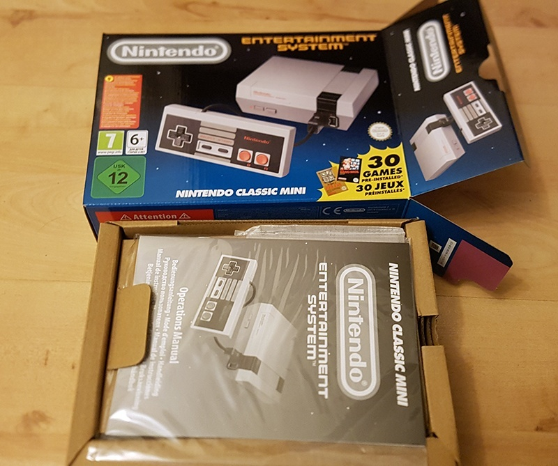 Image for A Quick Look at the Nintendo Classic Mini: Nintendo Entertainment System