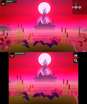 Screenshot for Severed on Nintendo 3DS