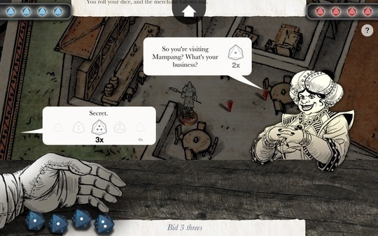 Screenshot for Sorcery! 4 on Android