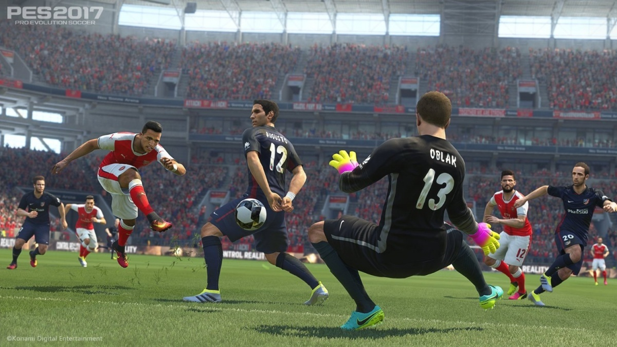 Screenshot for Pro Evolution Soccer 2017 on Xbox One