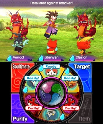 Screenshot for Yo-kai Watch 2: Bony Spirits on Nintendo 3DS
