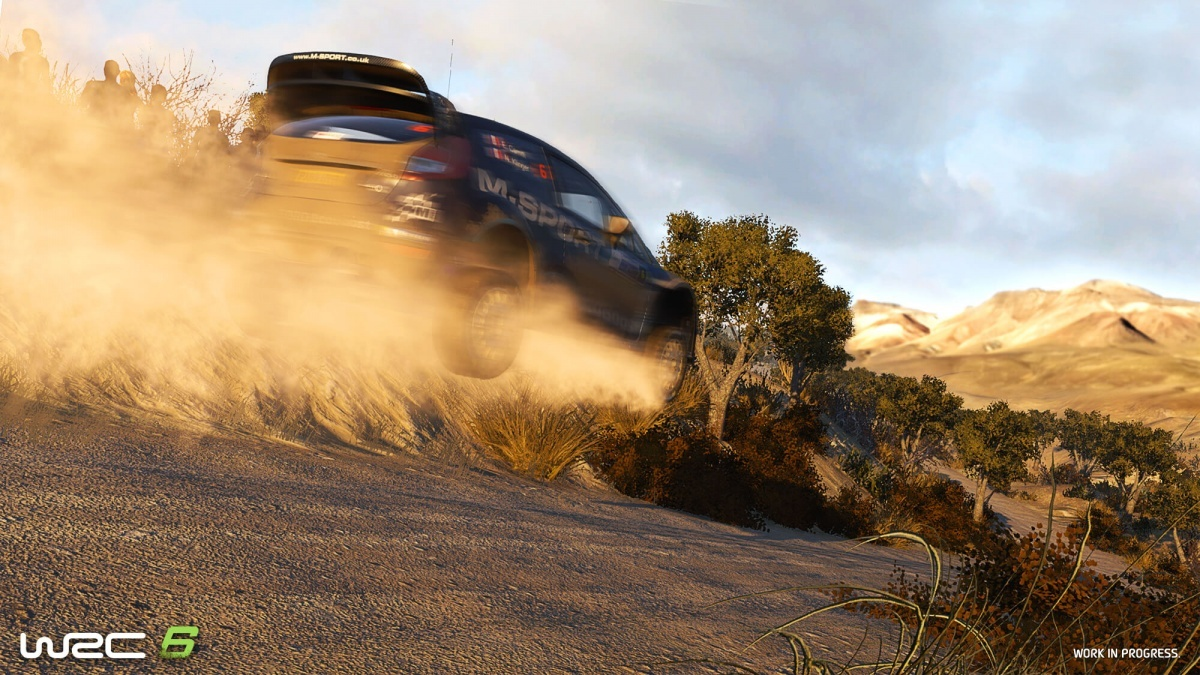 Screenshot for WRC 6 on PlayStation 4
