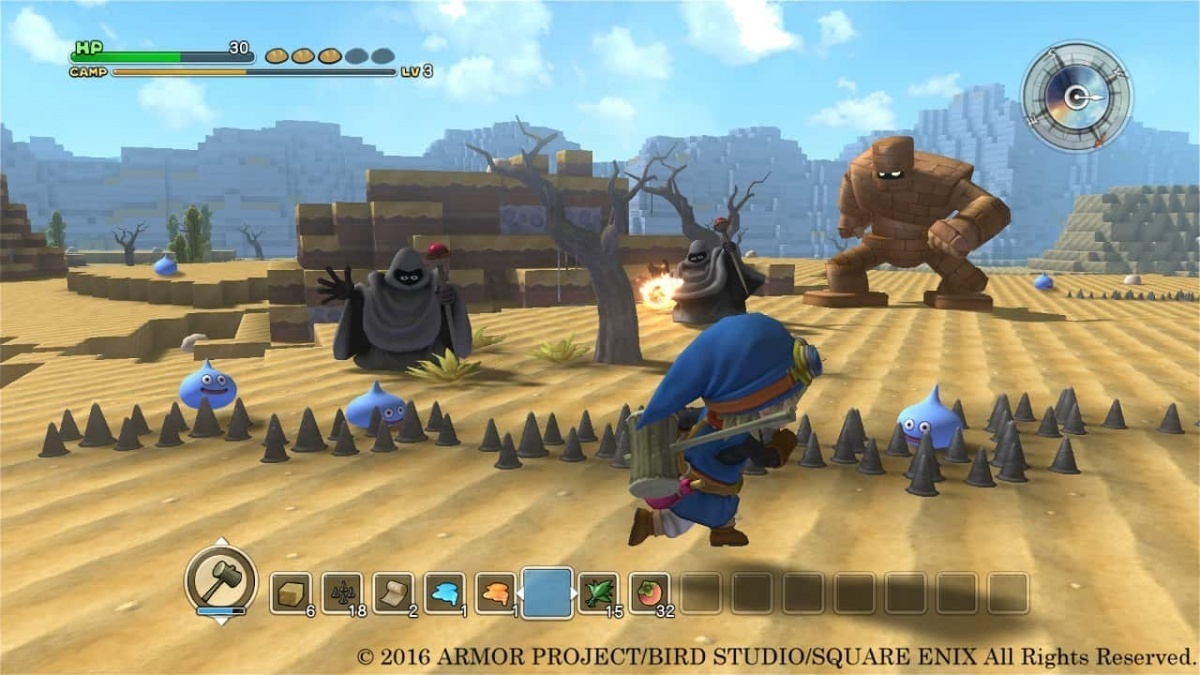 Screenshot for Dragon Quest Builders on PS Vita