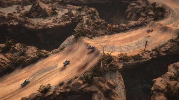 Screenshot for Mantis Burn Racing on PC