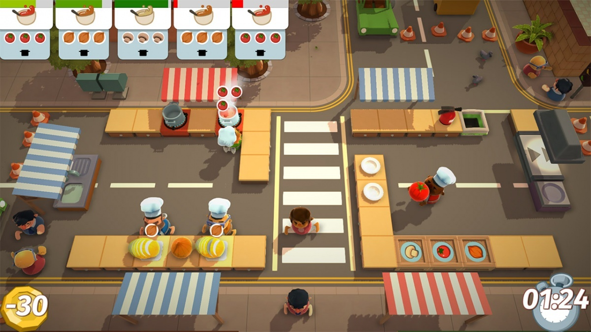 Screenshot for Overcooked on PlayStation 4