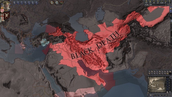 Screenshot for Crusader Kings II: The Reaper's Due on PC