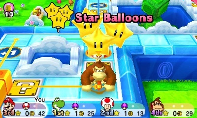 Screenshot for Mario Party: Star Rush on Nintendo 3DS