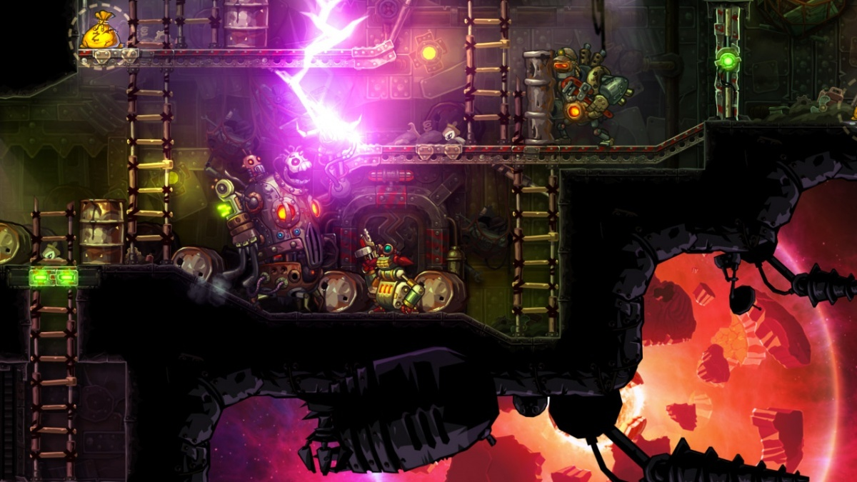 Screenshot for SteamWorld Heist on PS Vita