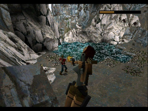 Screenshot for Tomb Raider on PlayStation