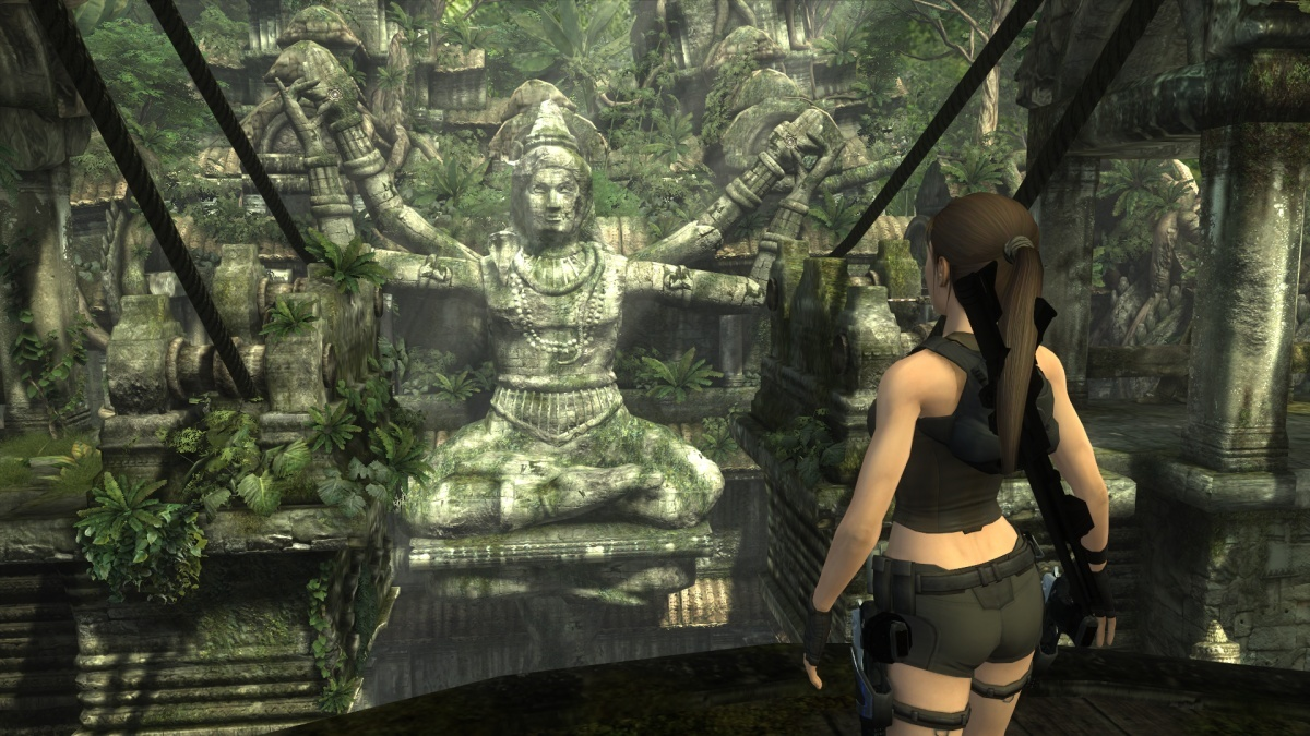 Tomb Raider Underworld Pc Review Page 1 Cubed3