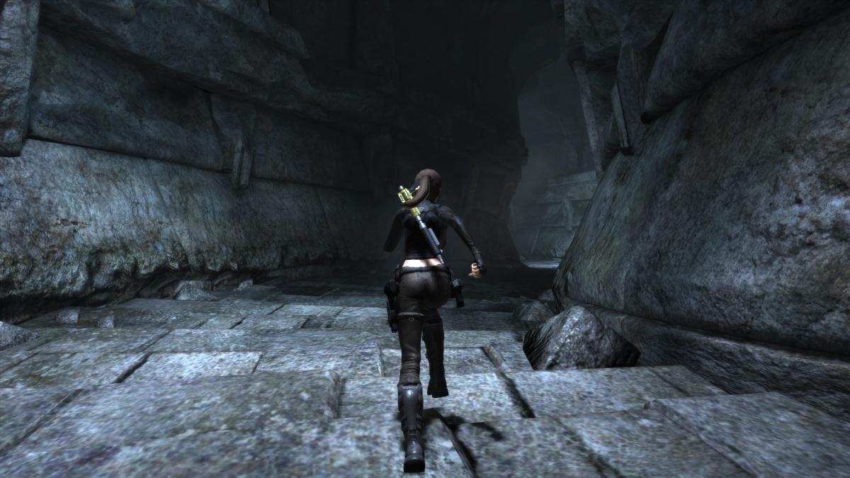 tomb raider underworld wii classic controller