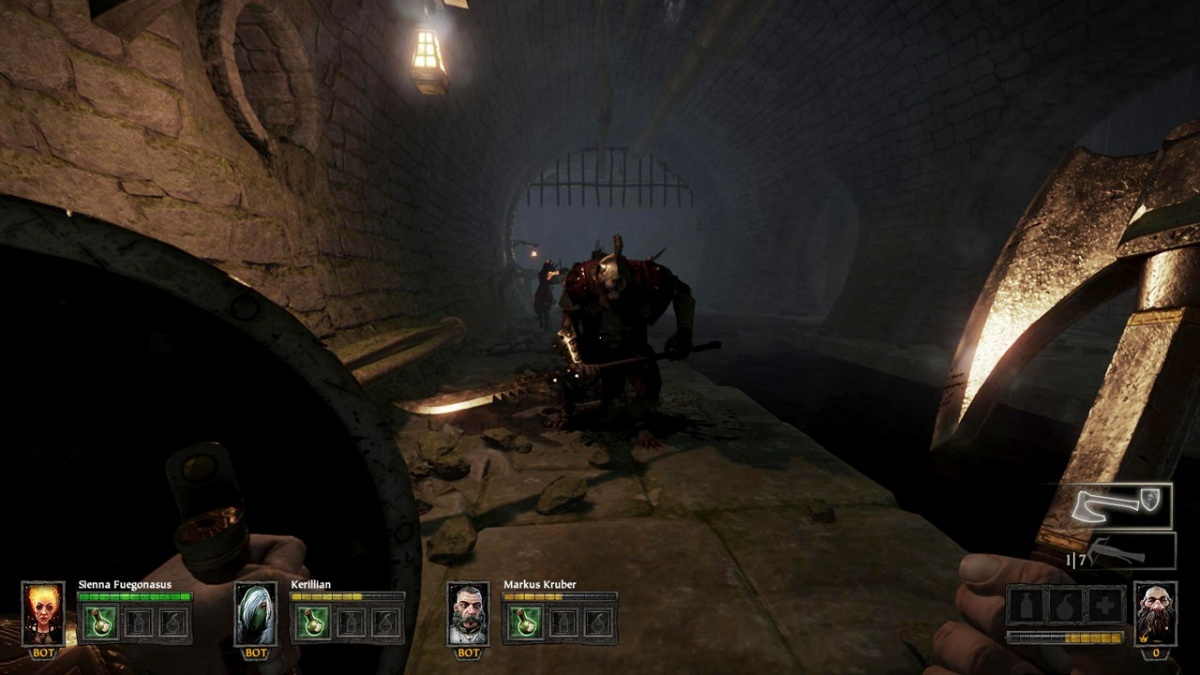 Screenshot for Warhammer: The End Times - Vermintide on PlayStation 4
