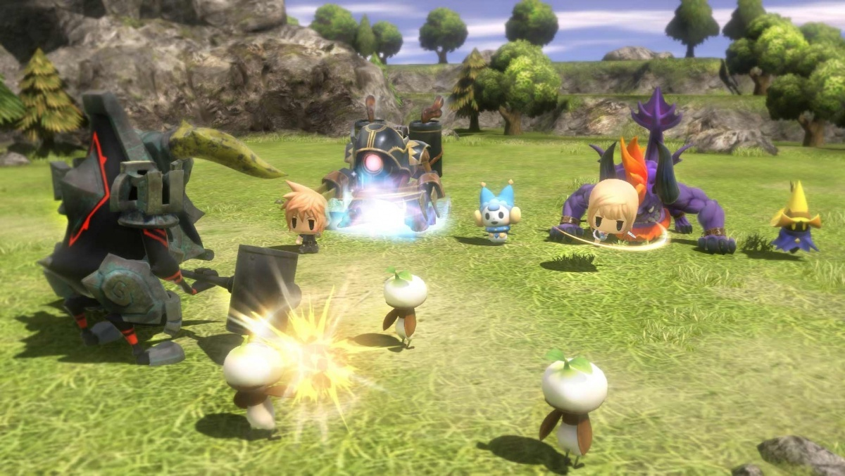 Screenshot for World of Final Fantasy on PS Vita