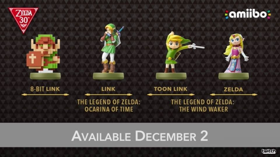 Image for 30th Anniversary of Zelda Brings New amiibo