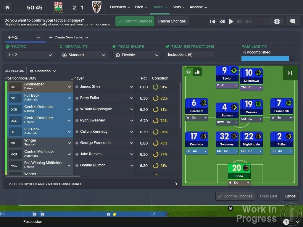 Screenshot for Football Manager 2016 on PC