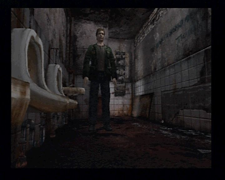 Screenshot for Silent Hill 2 on PlayStation 2