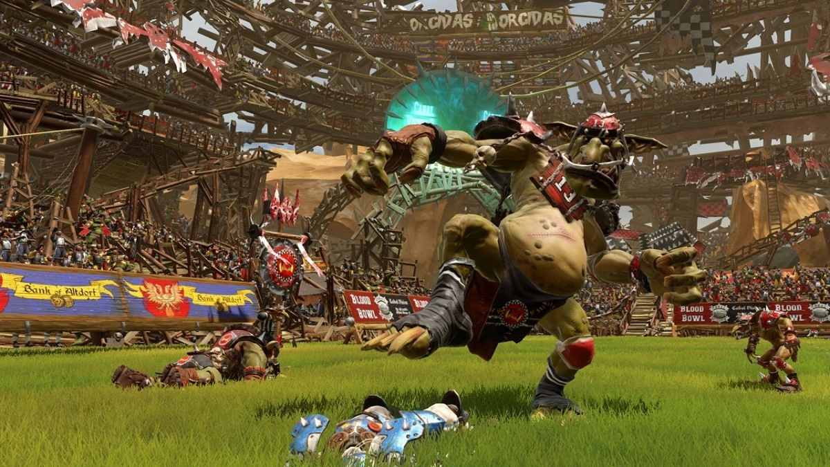 Screenshot for Blood Bowl 2: Legendary Edition on PlayStation 4