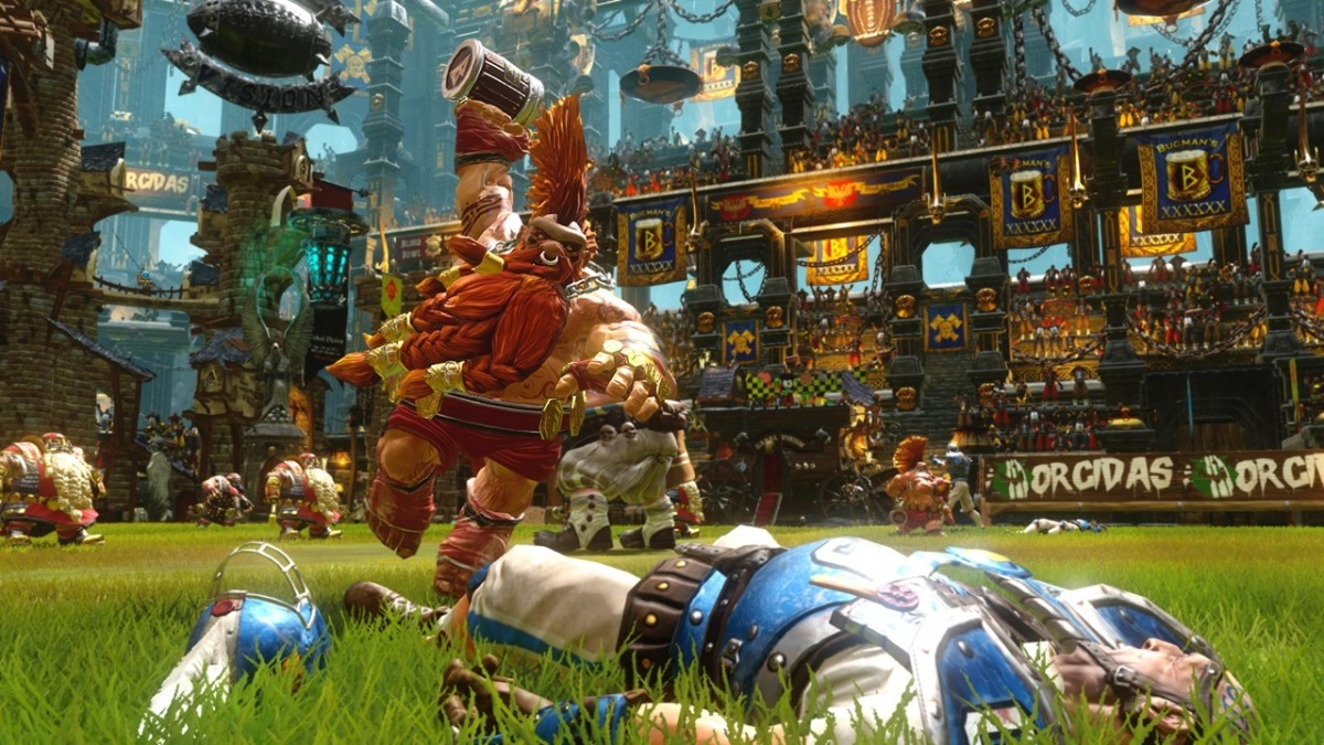 Screenshot for Blood Bowl 2 on PlayStation 4