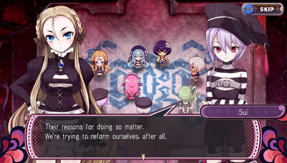 Screenshot for Criminal Girls 2: Party Favors on PS Vita