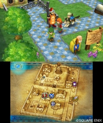 Screenshot for Dragon Quest VII: Fragments of the Forgotten Past on Nintendo 3DS