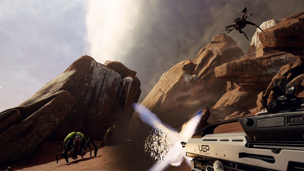 Screenshot for Farpoint on PlayStation 4