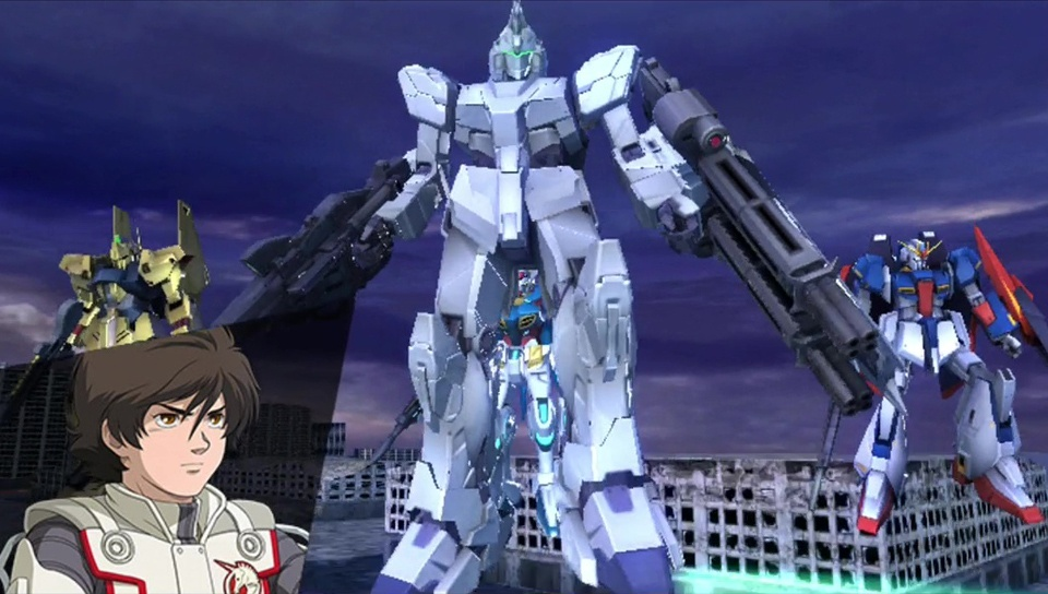 Screenshot for Mobile Suit Gundam: Extreme VS-Force on PS Vita