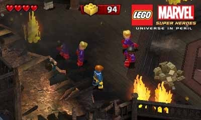 Screenshot for LEGO Marvel Super Heroes: Universe in Peril on Nintendo 3DS