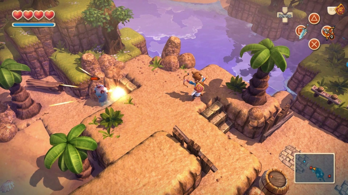 Screenshot for Oceanhorn: Monster of Uncharted Seas on Xbox One