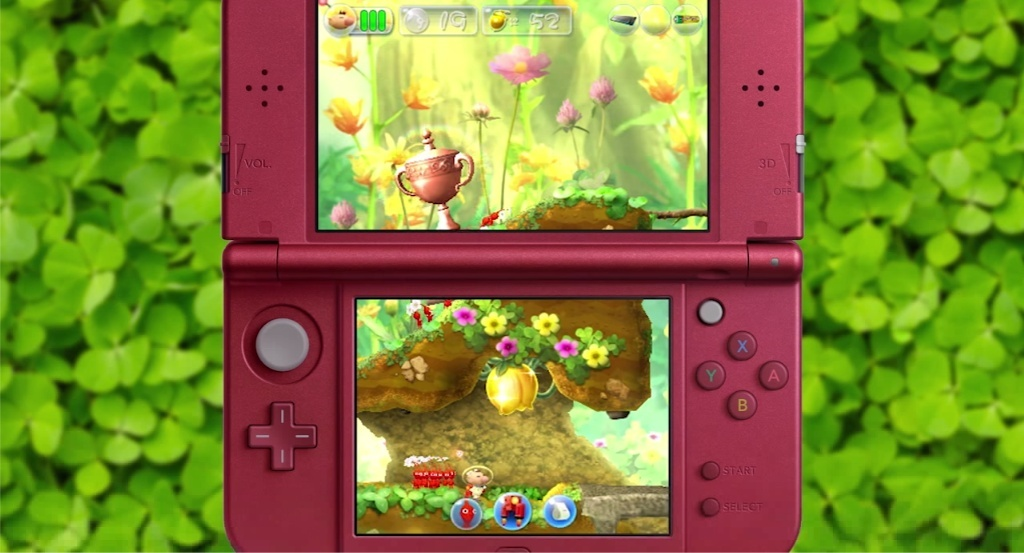 Screenshot for Hey! Pikmin on Nintendo 3DS