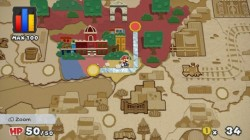 Screenshot for Paper Mario: Color Splash - click to enlarge