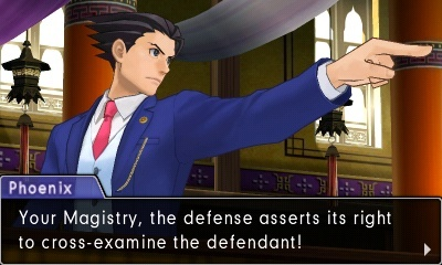 Screenshot for Phoenix Wright: Ace Attorney - Spirit of Justice on Nintendo 3DS