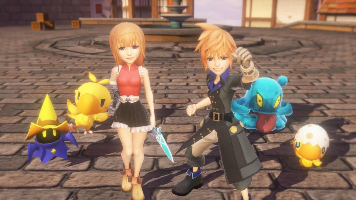 Screenshot for World of Final Fantasy on PlayStation 4