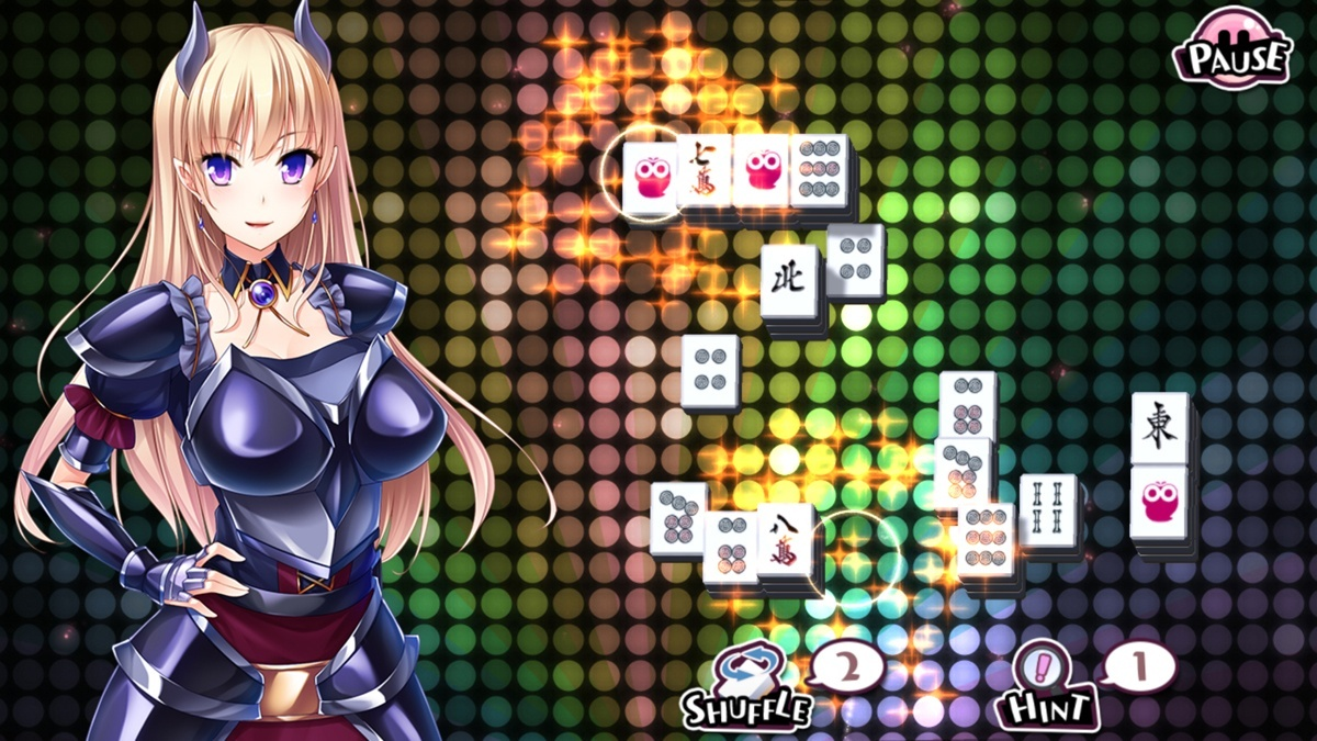 Screenshot for Delicious! Pretty Girls Mahjong Solitaire on Android