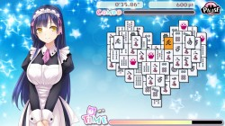 Screenshot for Delicious! Pretty Girls Mahjong Solitaire - click to enlarge