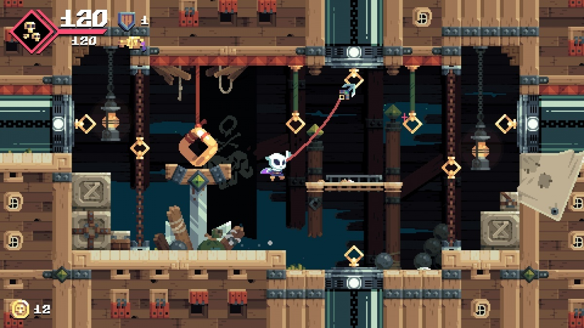 Screenshot for Flinthook on PC