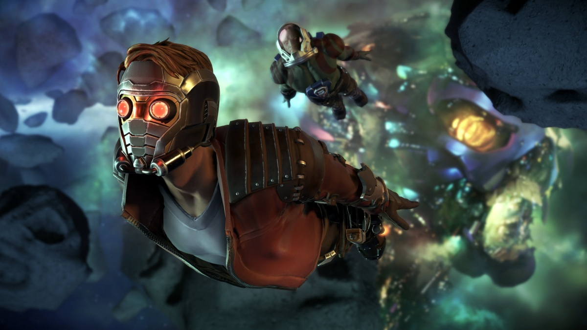 Screenshot for Marvel's Guardians of the Galaxy: The Telltale Series - Episode One: Tangled Up in Blue on PlayStation 4