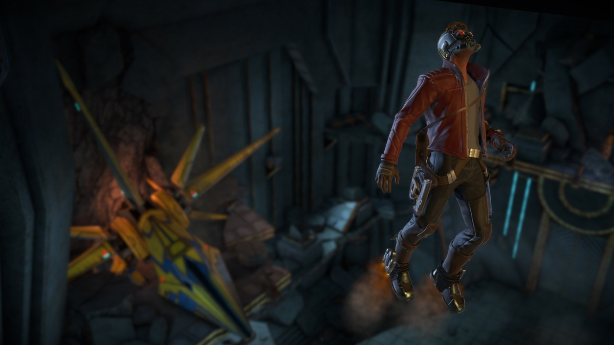 Screenshot for Marvel's Guardians of the Galaxy: The Telltale Series - Episode Two: Under Pressure on PlayStation 4