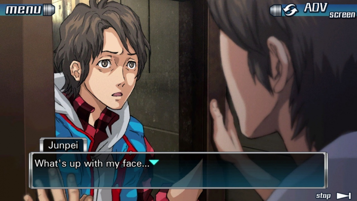 Screenshot for Zero Escape: The Nonary Games on PlayStation 4