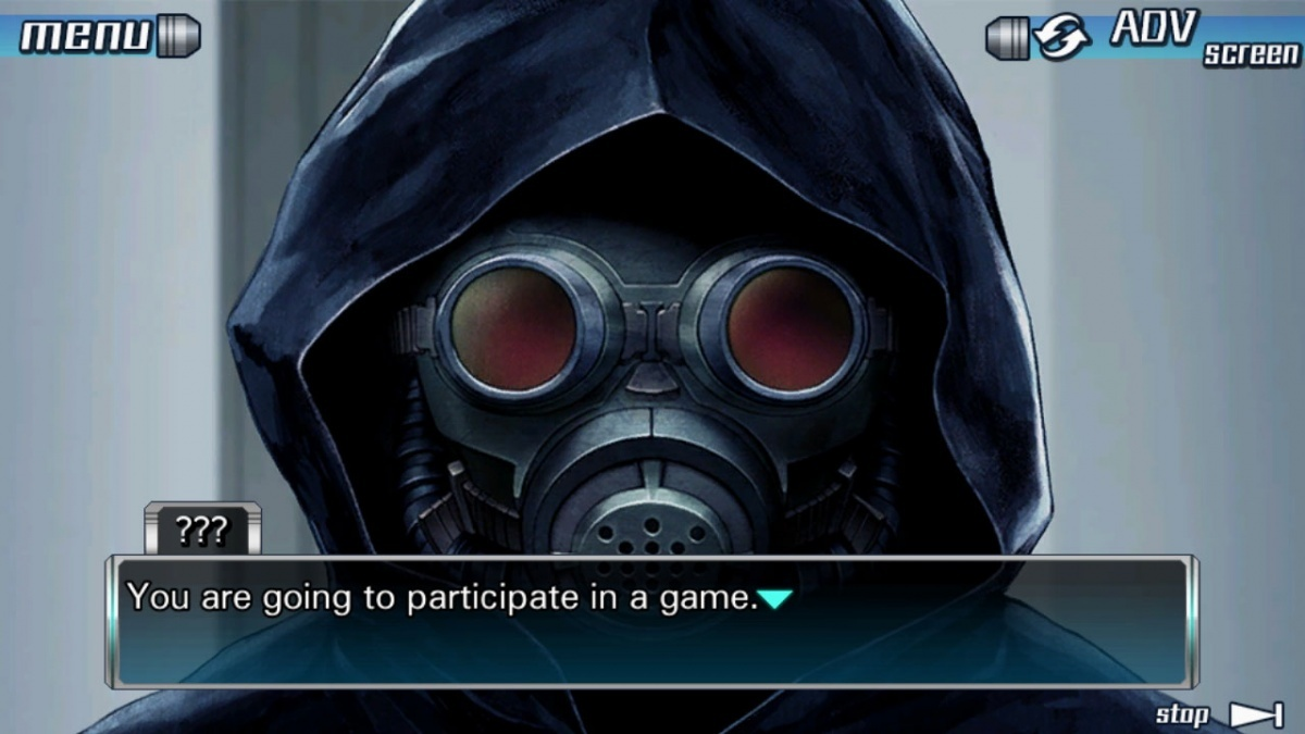 Screenshot for Zero Escape: The Nonary Games on PS Vita