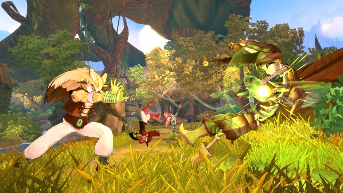Screenshot for Shiness: The Lightning Kingdom on PlayStation 4