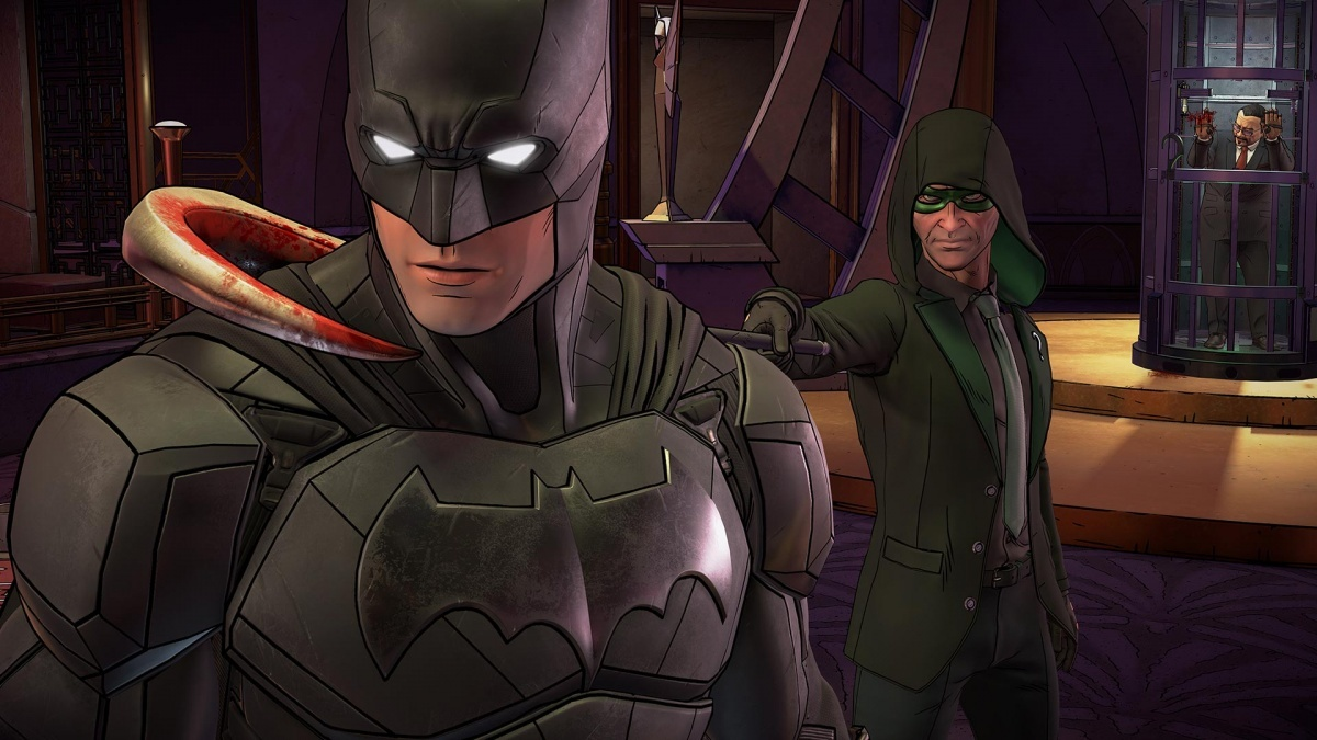 Screenshot for Batman: The Enemy Within - Episode 1: The Enigma on PlayStation 4