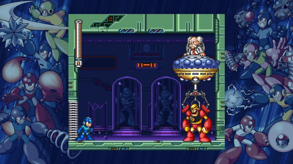 Screenshot for Mega Man Legacy Collection 2 on PlayStation 4