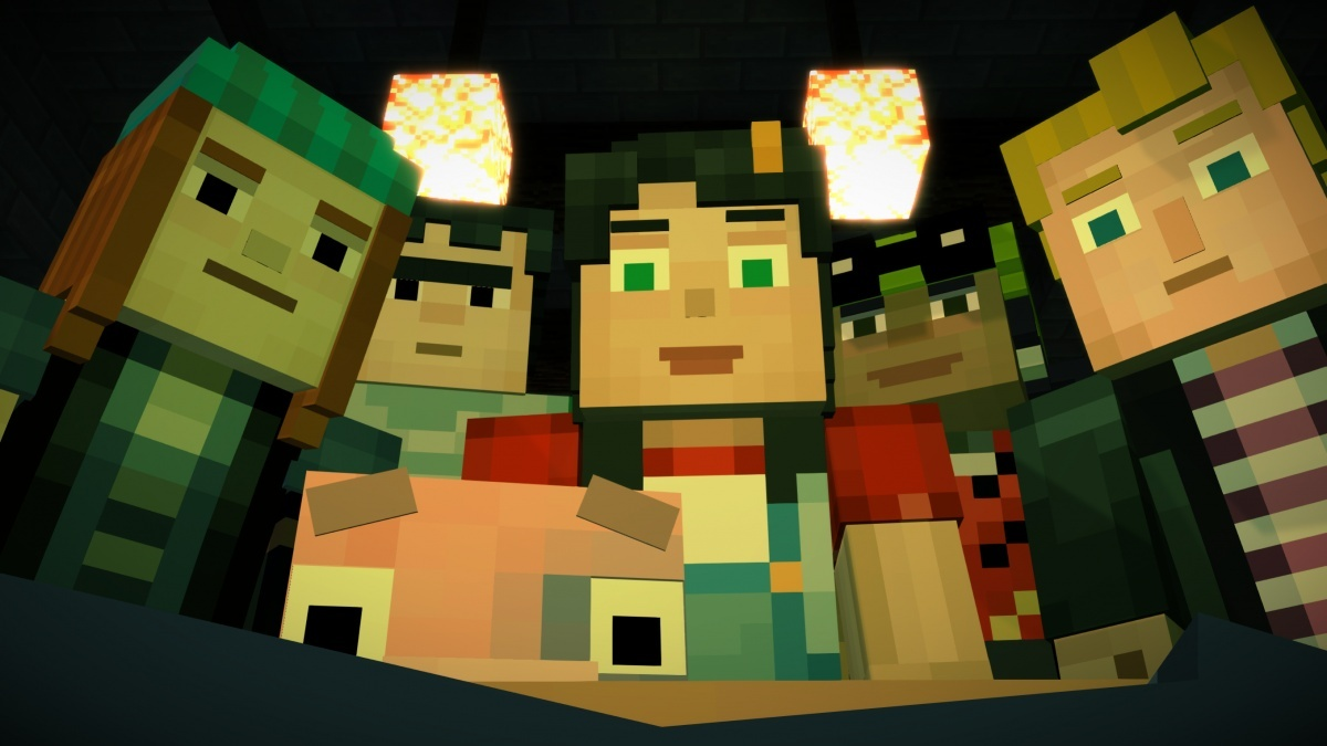 Screenshot for Minecraft: Story Mode on PC