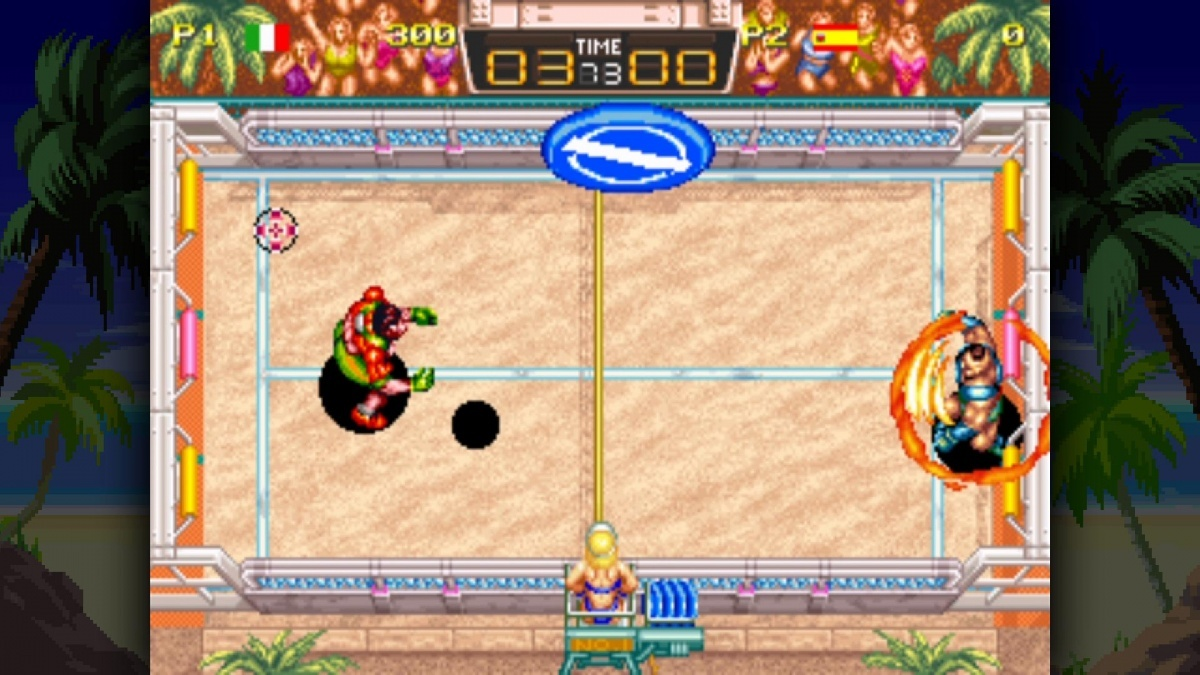 Screenshot for Windjammers on PlayStation 4