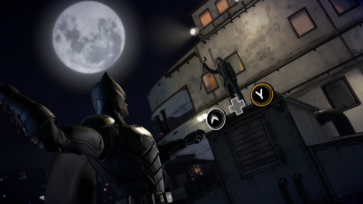 Screenshot for Batman: The Enemy Within - Episode 1: The Enigma on PC