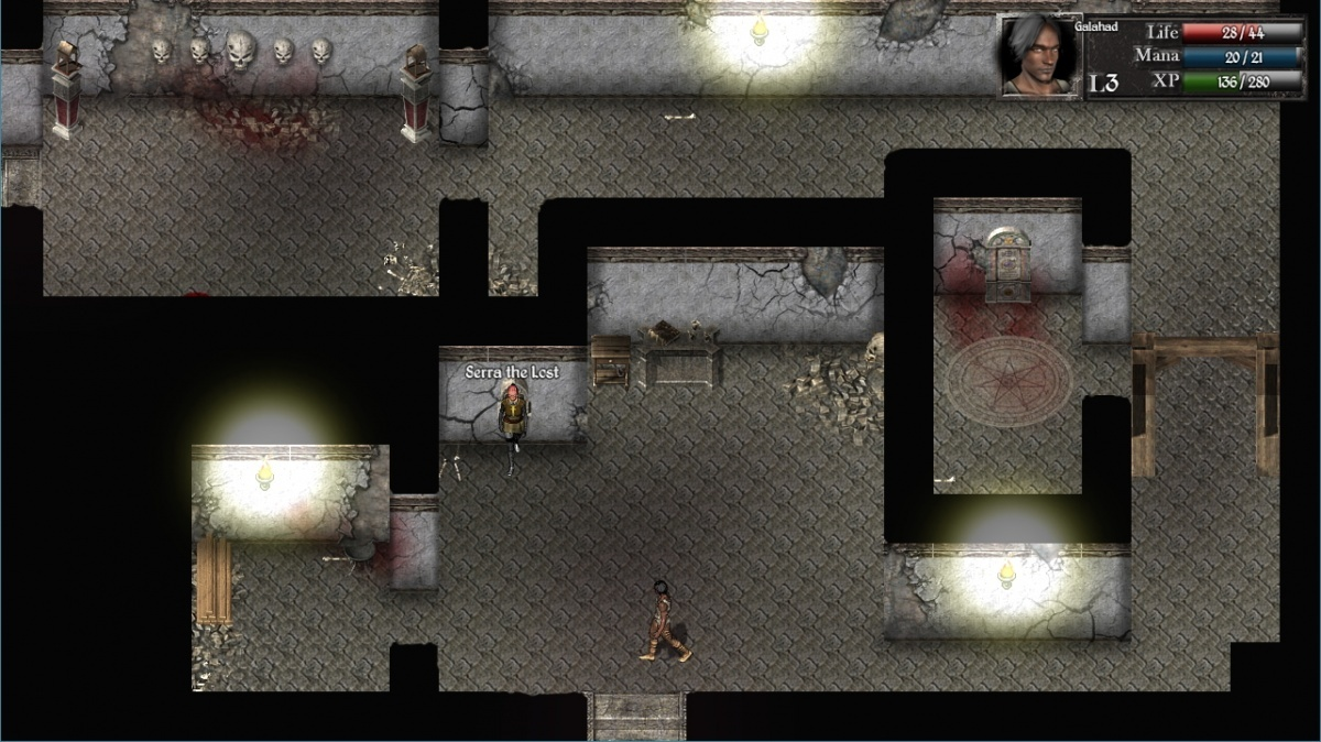 Screenshot for Catacombs 1: Demon War on PC