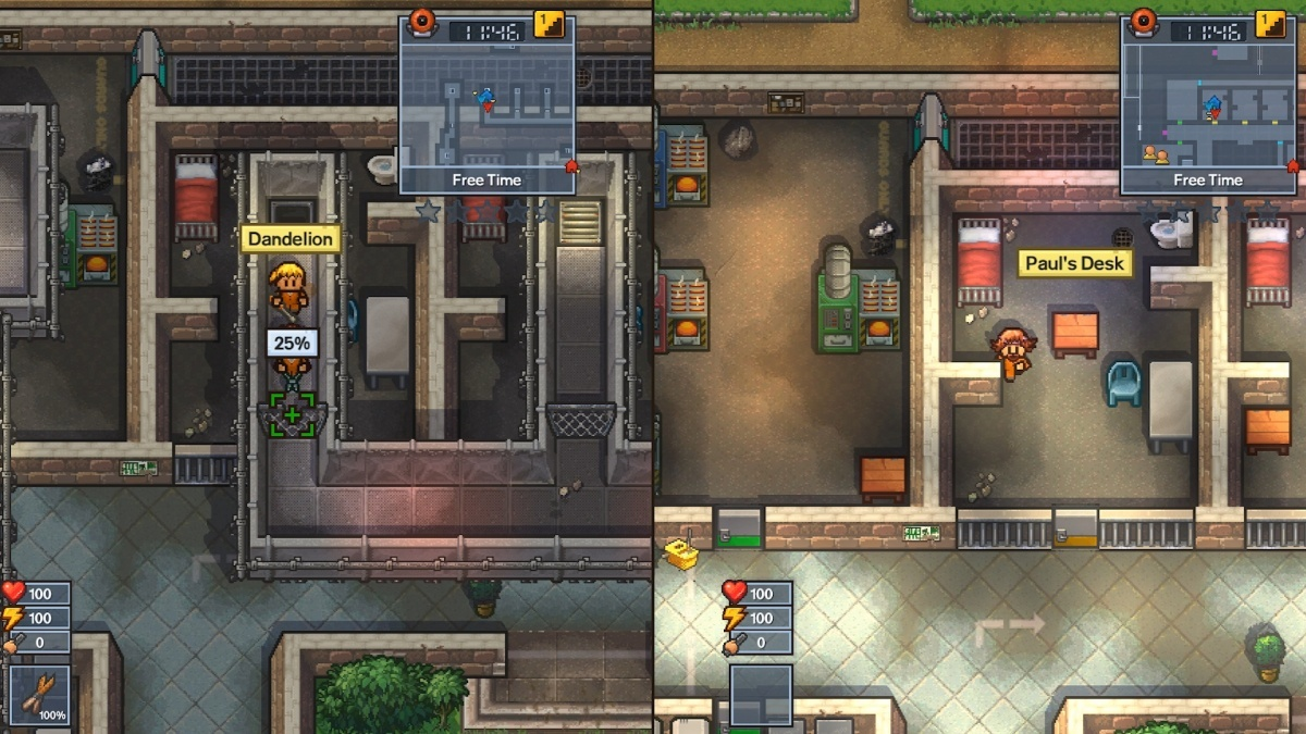Screenshot for The Escapists 2 on Nintendo Switch